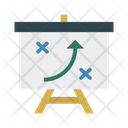 Strategy Planning Board Icon