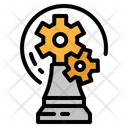 Strategy Gaming Chess Icon