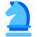 Strategy Planning Knight Icon