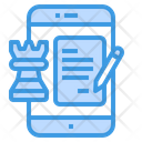 Strategy Plan Smartphone Icon