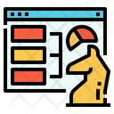 Business Strategy Analytics Icon