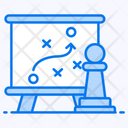 Strategy Game Plan Tactical Plan Icon