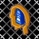 Chess Figure Head Icon
