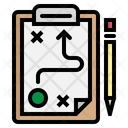 Strategy Plan Business Icon