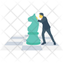 Strategy Chess Development Icon