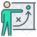 Strategy Plan Training Icon