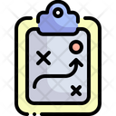 Strategy Sports And Competition Tactic Icon