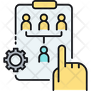 Strategy Organization Planning Icon