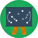 Strategy Football Player Strategy Player Strategy Icon