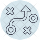 Business Strategy Path Icon