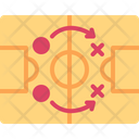 Strategy Plan Football Icon