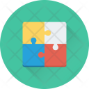 Strategy Solution Jigsaw Icon