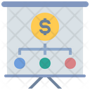 Strategy Planning Money Icon