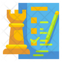 Strategy Planning Analysis Icon