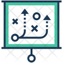 Strategy Flipchart Plan Icon