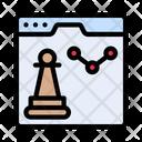Strategy Webpage Internet Icon