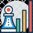 Bar Graph Chess Icon