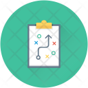 Strategy Tactic Plan Icon