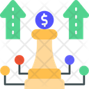 Strategy Business Strategy Finance Strategy Icon