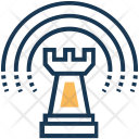 Chess Business Strategy Icon
