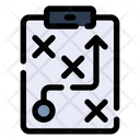 Strategy Tactical Strategic Plan Icon