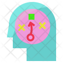Strategy Plan Think Icon