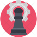 Strategy Planning Pawn Icon