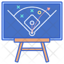 Strategy Field Strategy Planning Icon