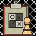 Strategy Chess Pawn Icon