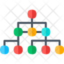 Strategy Network Connection Icon