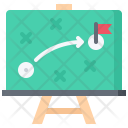 Strategy Plan Board Icon