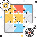 Strategy Jigsaw Puzzle Icon
