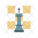 Strategy Puzzle Key Icon