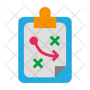 Strategy Clipboard Planning Icon