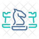 Strategy Chess Knight Icon