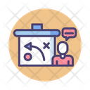 Strategy And Consultancy Stategy Planning Icon