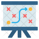 Board Strategy Planning Icon