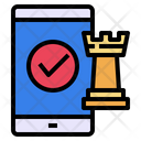 Mobile Screen Chess Icon