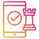 Mobile Screen Chess Icon