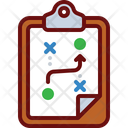 Strategy Clipboard Strategy Report Strategy Document Icon