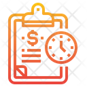 Clipboard Event Time Icon