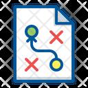 Document Plan Planning Icon