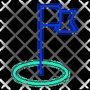 Strategy Flag Icon