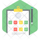 Plan Business Strategy Icon