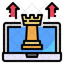 Chess Laptop Arrow Icon