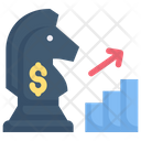 Strategy Marketing Growth Planning Chess Icon