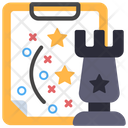 Strategy Planning Project Strategy Icon