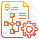 Strategy Report Management Icon