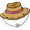 Straw Hat Farmer Hat Cap Icon