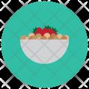 Strawberries Bowl Fruit Icon